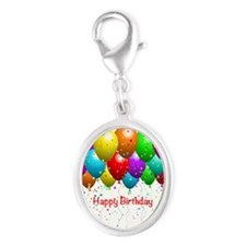 Happy Birthday Balloons Charms