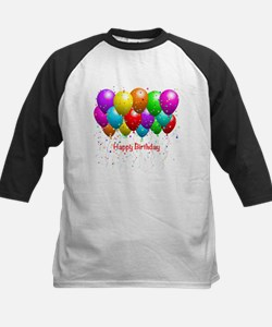 Happy Birthday Balloons Baseball Jersey