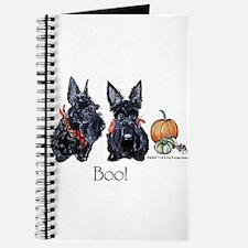 Halloween Scotties Journal