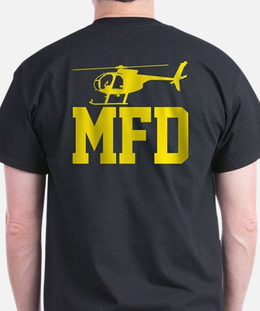 MFD Hughes 500D Helicopter T-Shirt