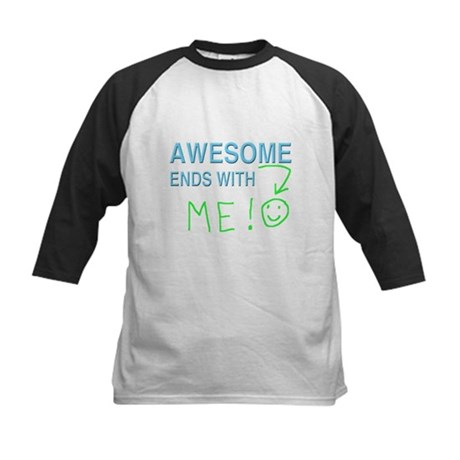 Awesome Ends With ME! Baseball Jersey