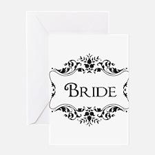 Wedding Gifts Bride Greeting Card