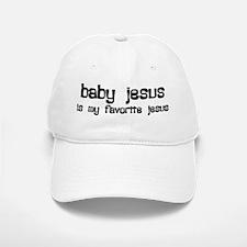 """Baby Jesus"" Baseball Baseball Cap"