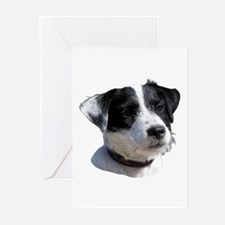 """Jackrussell 2"" Greeting Cards (Pk of 10)"