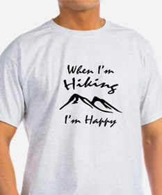 Hiking (Black) T-Shirt