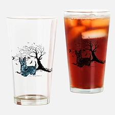 Spooky Scottie Halloween Drinking Glass