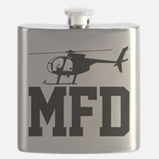 MFD Hughes 500D Helicopter Flask