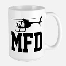 MFD Hughes 500D Helicopter Mugs