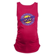 Softball Mom Maternity Tank Top