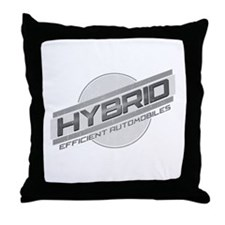 Hybrid Automobiles Throw Pillow