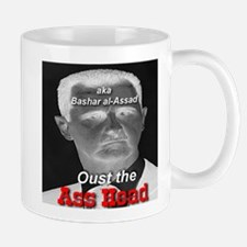 Oust the Ass Head aka Bashar al-Assad Mug