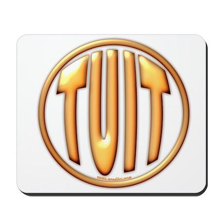 Orange TUIT Mousepad