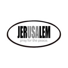 Jerusalem Pray for the Peace Patches
