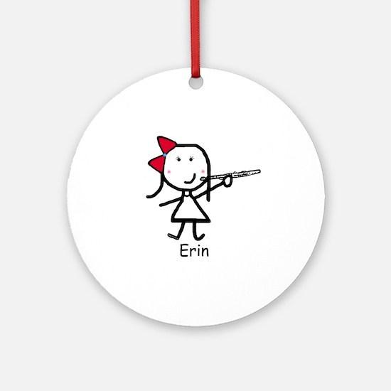 Flute - Erin Ornament (Round)