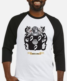 Miguel Coat of Arms - Family Crest Baseball Jersey