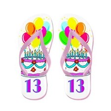 TRENDY 13TH Flip Flops