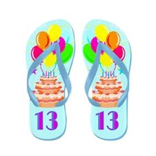 FANTASTIC 13TH Flip Flops