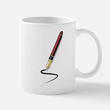 Fountain Pen Writing Mugs
