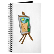 Art Easel with Painting Journal