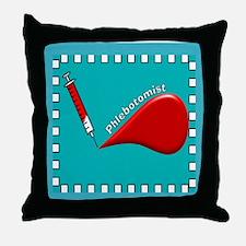 phlebotomist DUVET Throw Pillow