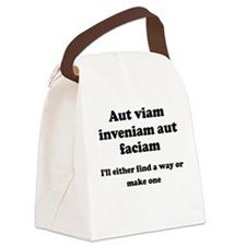 Aut viam inveniam aut faciam Canvas Lunch Bag