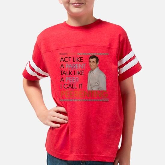 Modern Family Peerenting Dark Youth Football Shirt