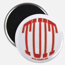 Red TUIT Magnet