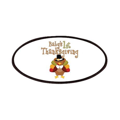 Babys 1st Thanksgiving Turkey Patches