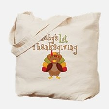 Babys 1st Thanksgiving Turkey Tote Bag
