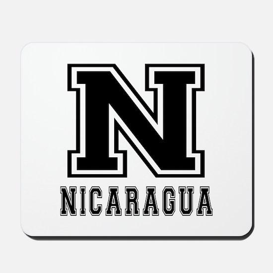 Nicaragua Designs Mousepad