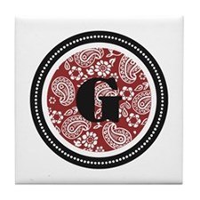 Red Tile Coaster