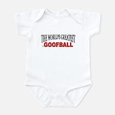 """""""The World's Greatest Goofball"""" Infant Bodysuit"""