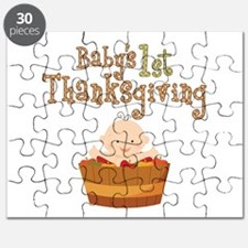 Babys 1st Thanksgiving Apples Puzzle