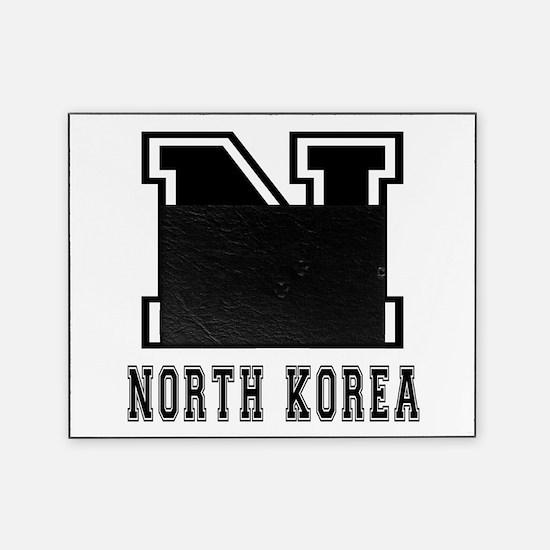 North Korea Designs Picture Frame