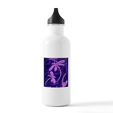 Dragonfly Disco Sports Water Bottle