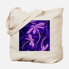 Dragonfly Disco Tote Bag