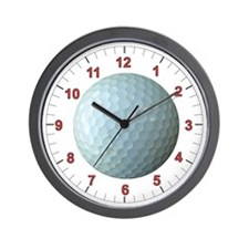 Golf Ball Wall Clock