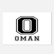 Oman Designs Postcards (Package of 8)