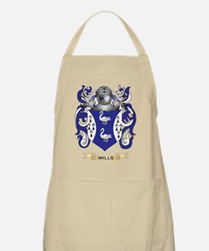 Mills-(Ulster) Coat of Arms - Family Crest Apron