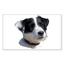 """Jackrussell 2"" Rectangle Decal"