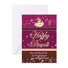 Stylish Diwali Greeting Card (Pk of 20)
