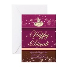 Diwali Greeting Cards (Pk of 20) With Verse