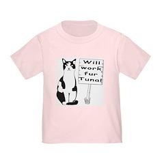 Hungry Feline (2-Sided) T