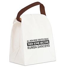 Rumba Dance designs Canvas Lunch Bag