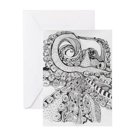 Octopus Life Greeting Card
