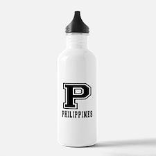 Philippines Designs Water Bottle