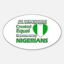 Nigerians husband designs Decal