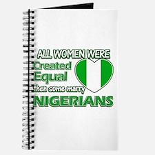 Nigerians husband designs Journal