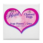Have a Heart Tile Coaster
