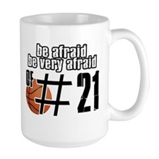 Number 21 basketball designs Mug